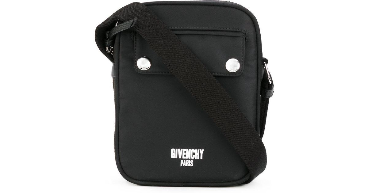 8b9aeefb84 Givenchy Mini Messenger Bag in Black for Men - Lyst