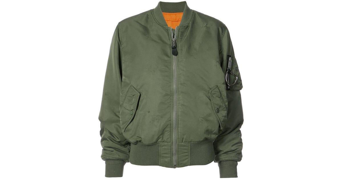 baa0dba1d 1017 ALYX 9SM - Green 1999 Eternal Bomber Jacket - Lyst