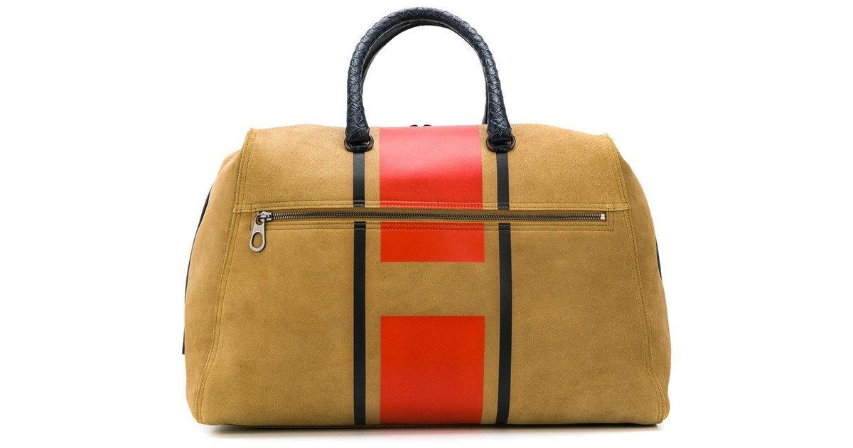 a3bb6fcb0d12 Lyst - Bottega Veneta Borsa Holdall in Brown for Men