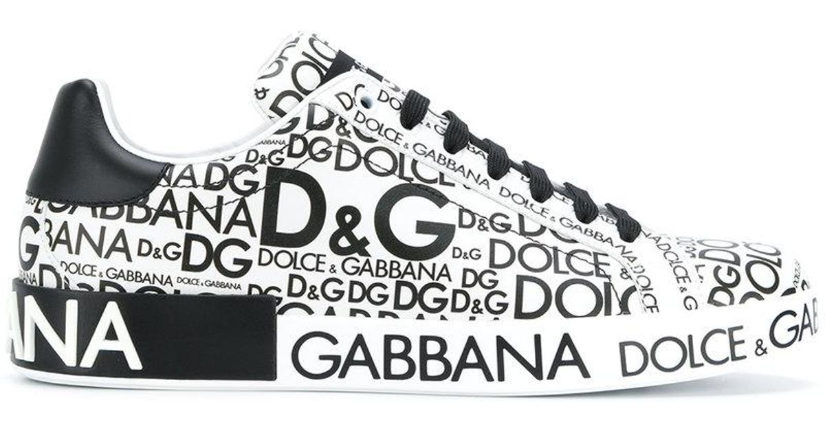 Dolce & Gabbana logo print sneakers best prices for sale cheap release dates professional online reliable sale online free shipping real 8uGom
