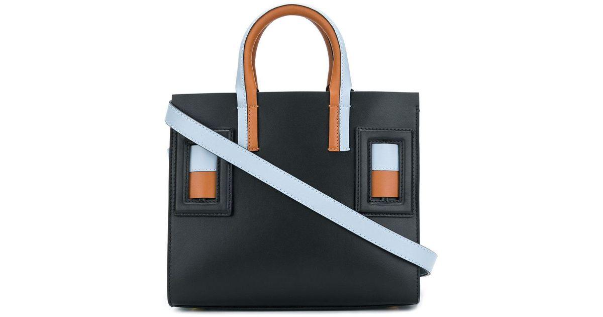 Cheap Affordable Cheapest geometric tote bag - Black Marni Cheap Geniue Stockist ylrVvO