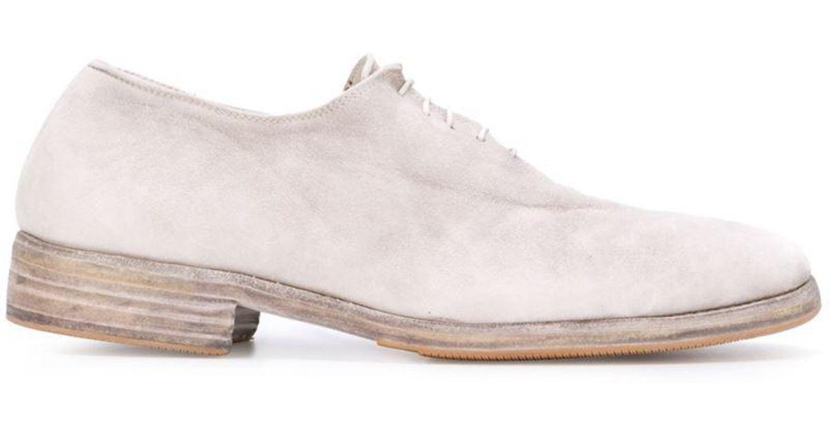 En Difficulté Guidi Chaussures À Lacets - Gris yezDEL