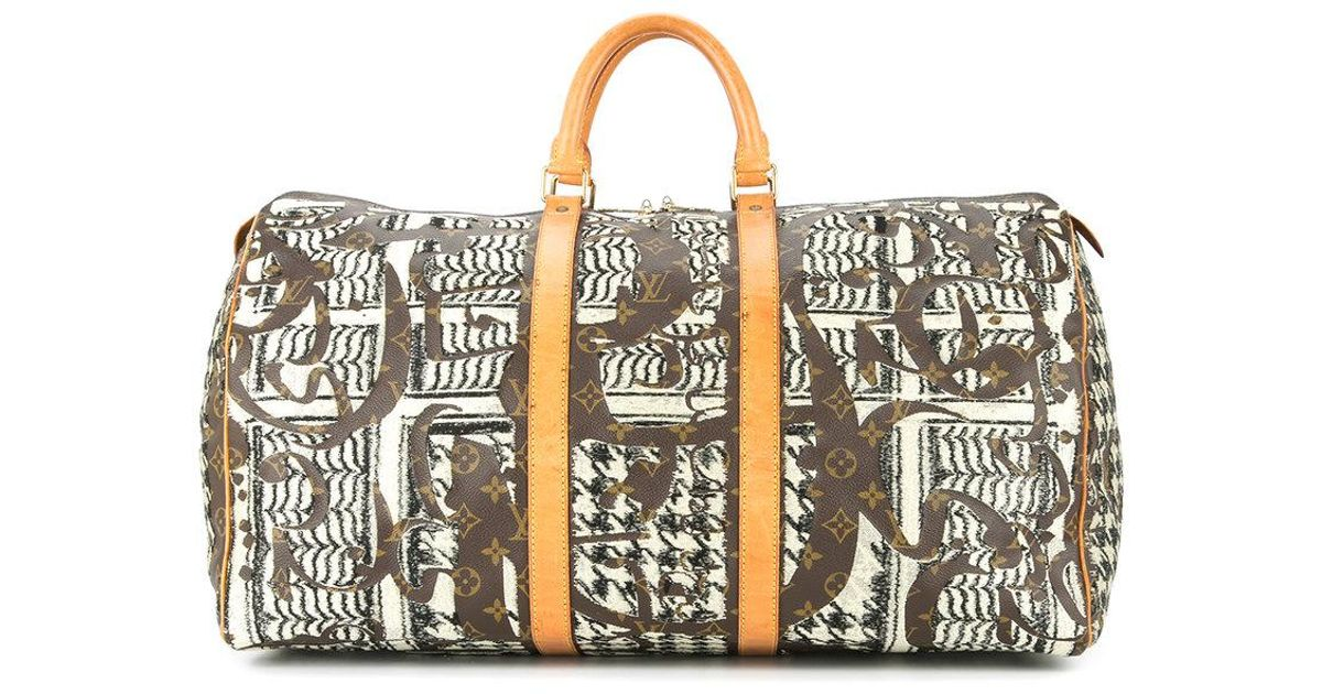 00009e24f3c7 Lyst - Jay Ahr Vintage Louis Vuitton Keepall in Brown for Men