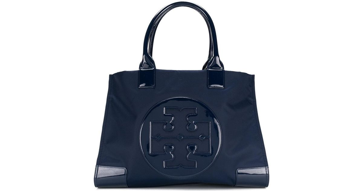 ccf8eb895 Lyst - Tory Burch Ella Tote Bag in Blue