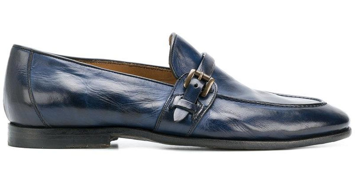 Geniue Stockist buckled loafers - Blue Silvano Sassetti Buy Cheap Excellent Cheap Sale How Much Release Dates Cheap Price Cheap Low Price Mu95Vmdm