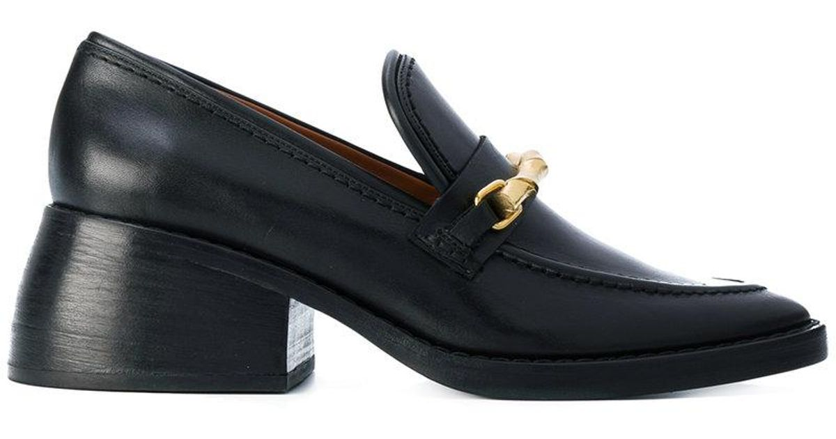Well known Lyst - Joseph Chunky Heeled Loafers in Black UV08