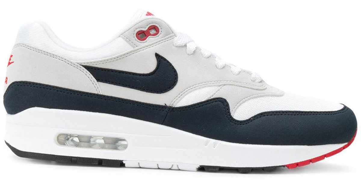 03452b6c6764bd Lyst - Nike Air Max 1 Anniversary Sneakers in White for Men