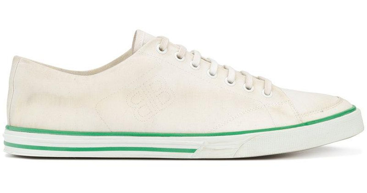 8c84335c801b Lyst - Balenciaga Bal Match Low Sneakers in White for Men