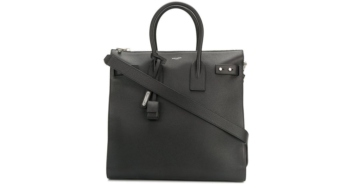 466bed3a8e1 Saint Laurent Sac De Jour Tote Bag in Black for Men - Lyst