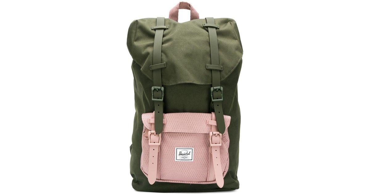 0b5d27acc56 Lyst - Herschel Supply Co. Medium Little America Backpack in Green for Men