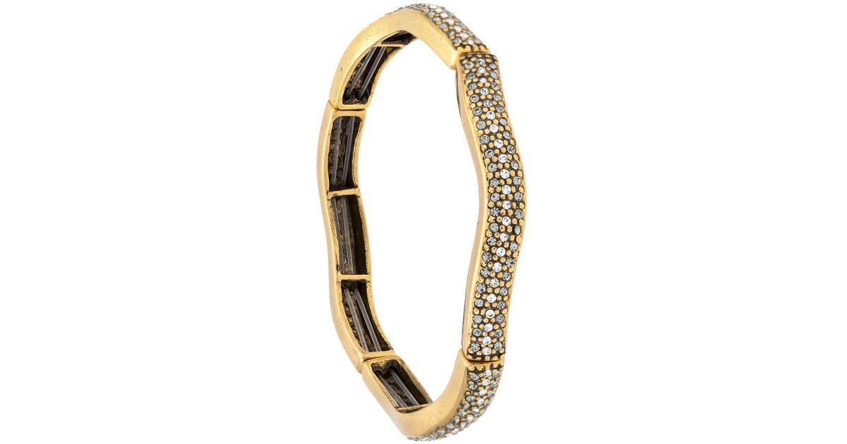 Camila Klein embellished bracelet - Metallic seBQa