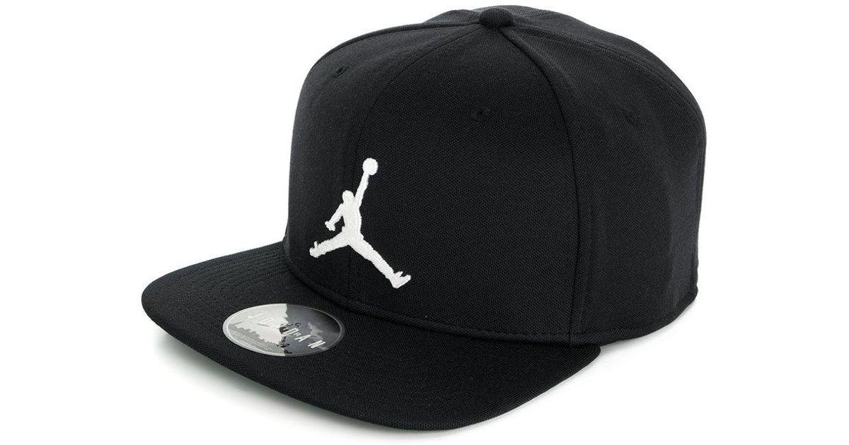 Lyst - Nike Jordan Jumpman Snapback Cap in Black for Men 5d84849fac1