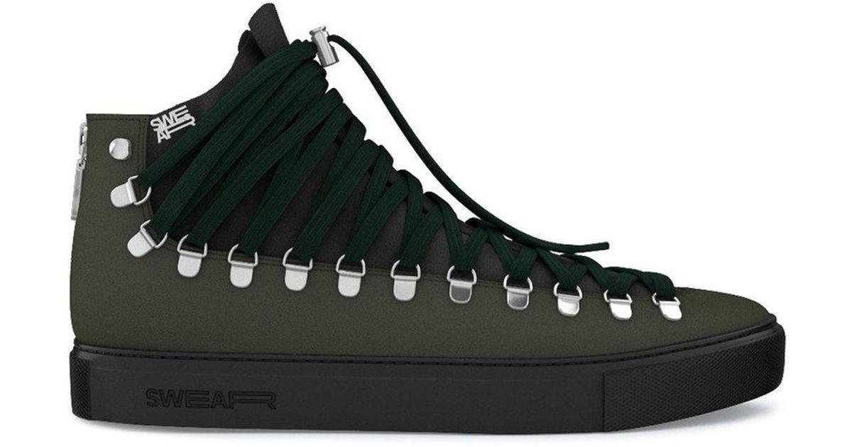 Redchurch hi-top sneakers - Green Swear CWTPODIdtt