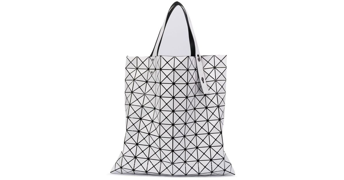 Shopper Issey Bao White Bag Triangle Tote Miyake Lyst l13JcuTFK5