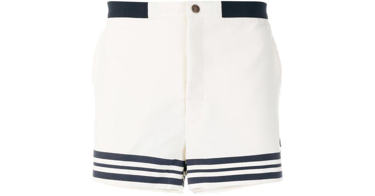 257d26baf282 Fila Striped Shorts in Blue for Men - Lyst