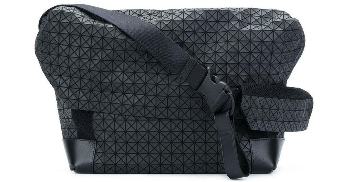 302a41852e Lyst - Bao Bao Issey Miyake Geometric Pattern Shoulder Bag in Black for Men