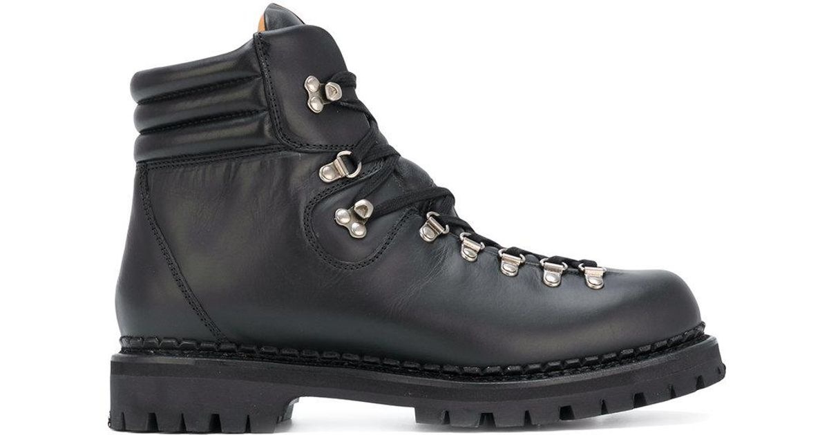 3e7a53e9ea1 Lyst - Gucci Web Bee Hiking Boots in Black for Men