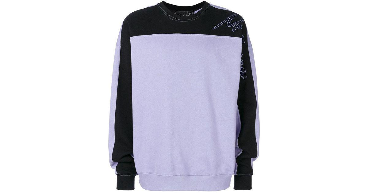 Pourpre Hommes Pour Lyst Rose Color Martine Dans Sweatshirt Block 1qwvCX