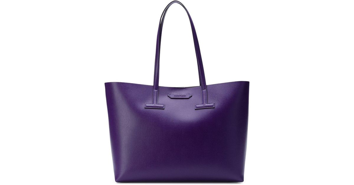 d03524572b85 Lyst - Tom Ford T Tote Bag in Purple