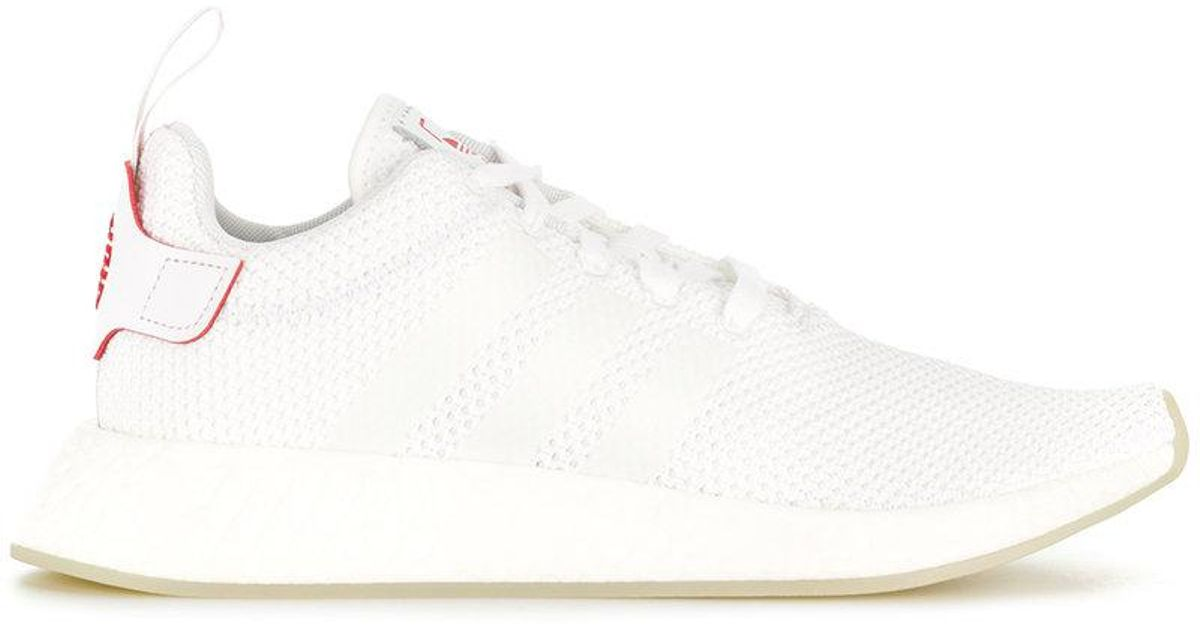sale retailer d341e 562f8 Adidas - White Nmd R2 Cny Sneakers - Lyst