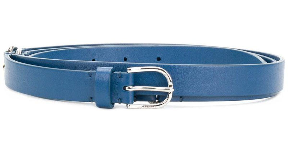 silver-toned hardware belt - Blue Altuzarra OUaaplG