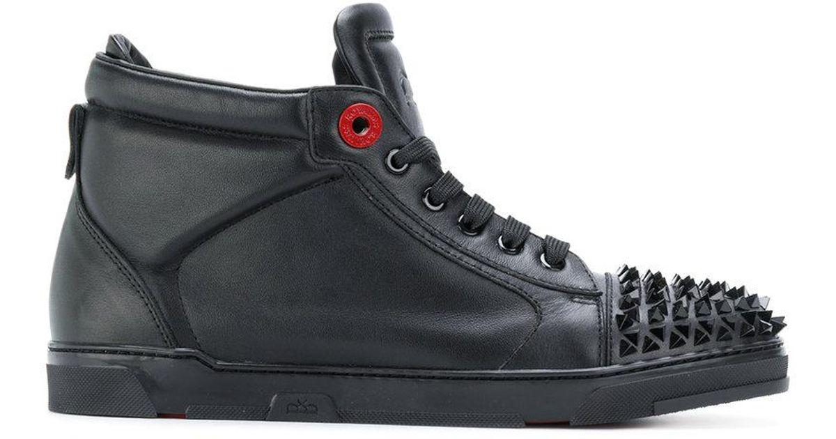 studded hi-top sneakers - Black Royaums OVw4EQ2ErF