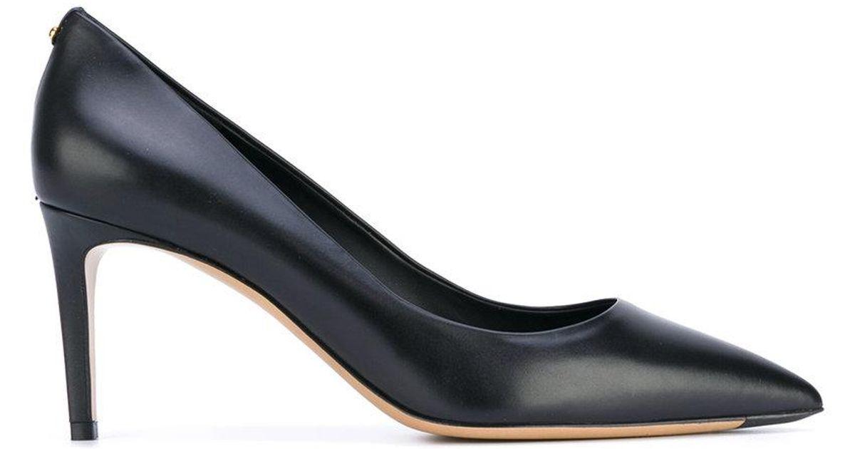 Lyst - Ferragamo Pointed-toe Pumps in Black e100498540f