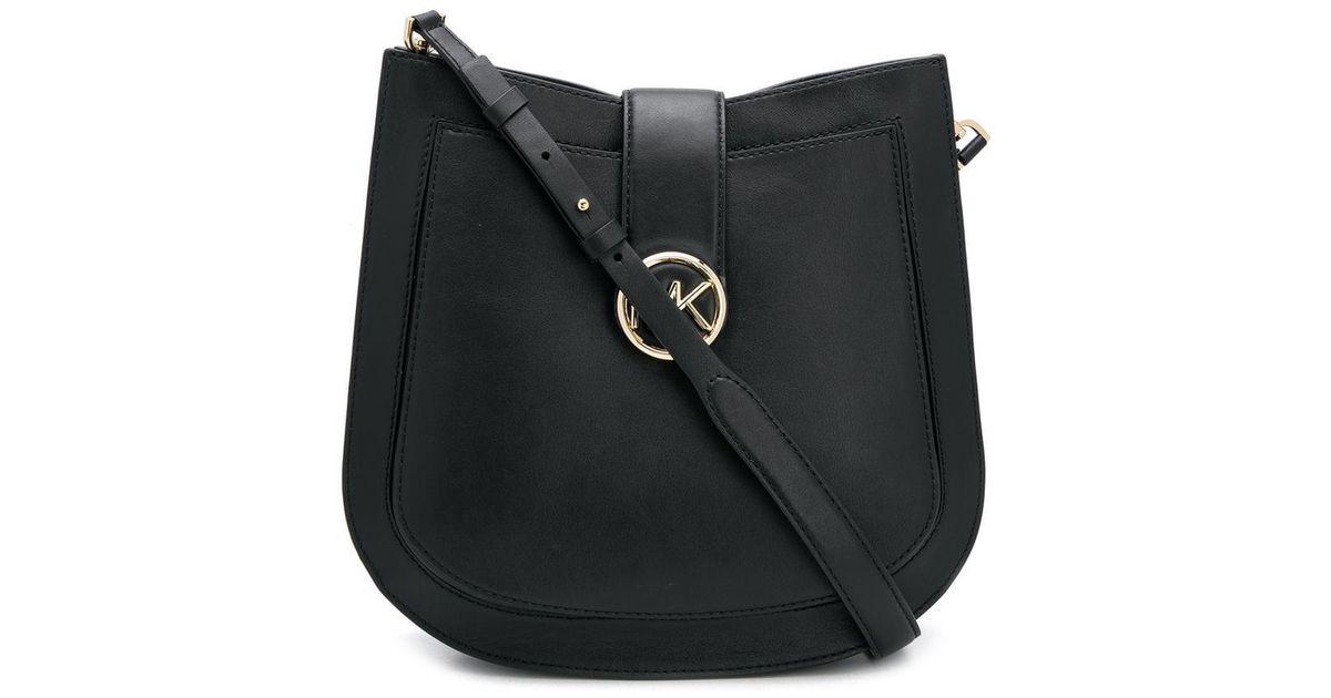 a45d4b353c98 Michael Michael Kors Lillie Shoulder Bag in Black - Lyst