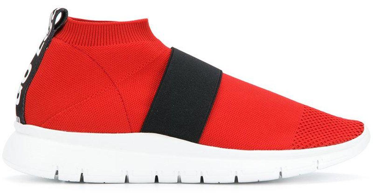 pull-on mesh sneakers - Red Joshua Sanders enTbP9P5Vi