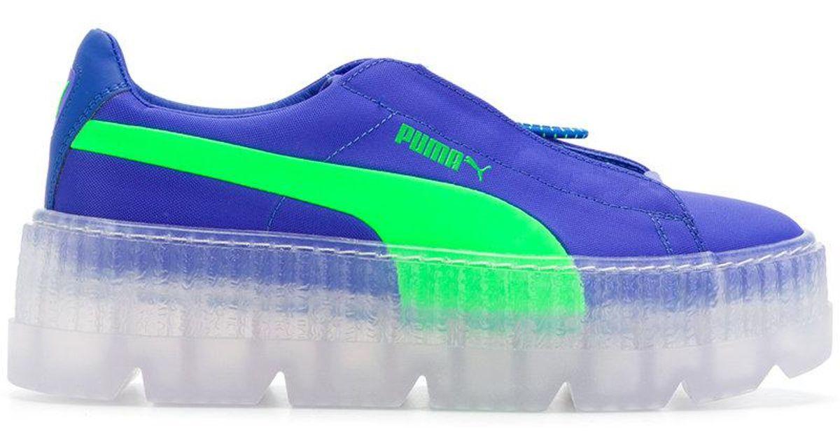 73cb81844b5a Lyst - PUMA Surf Sneakers in Blue