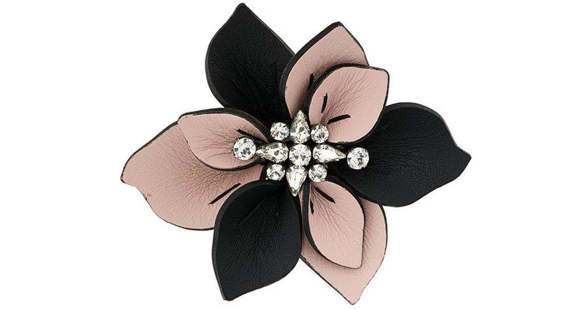asymmetric brooch - Pink & Purple Marni SmVCDr