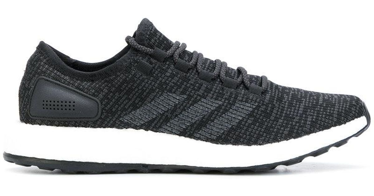 8d6145eed1c ... canada lyst adidas originals flyknit ultra boost sneakers in black for  men 6e4c3 15ab4