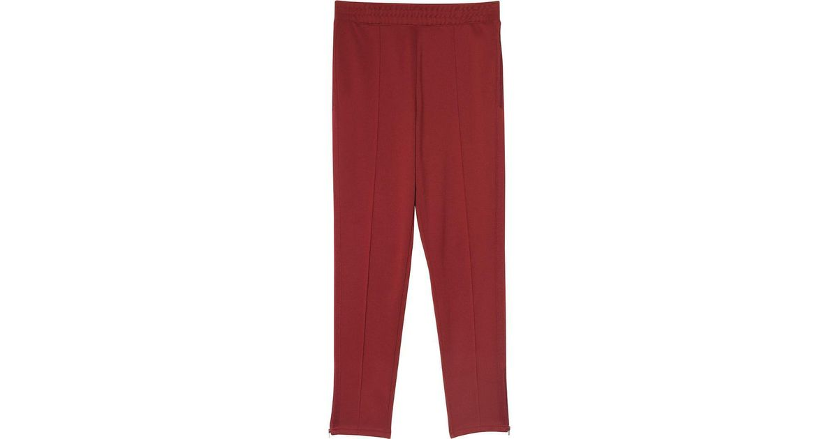 3d0f61cb8983 Lyst - Nike X Martine Rose Maroon Sweatpants in Red for Men