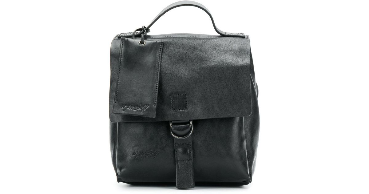 flap backpack - Black Marsèll Buy Cheap For Cheap Low Cost Sale 100% Guaranteed Under 70 Dollars Free Shipping Purchase A8JhZ6cM