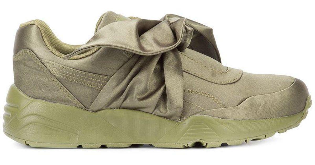 Puma Fenty Bow Sneakers in Green - Lyst 0144a3033