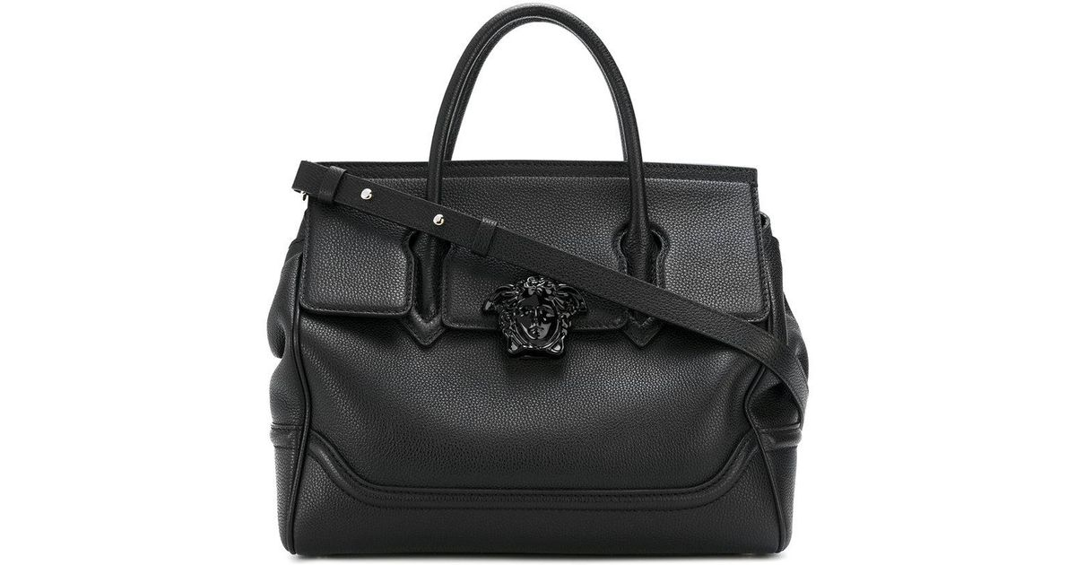 9590f4be9138 Lyst - Versace - Palazzo Empire Tote Bag in Black