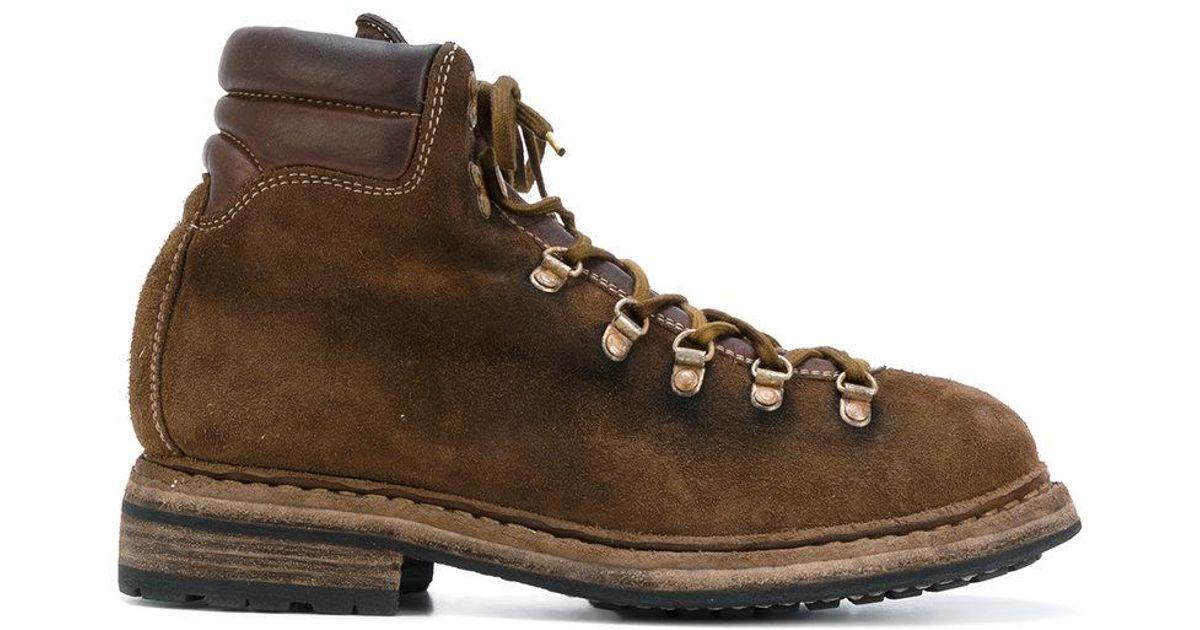 Lacets Guidi Chaussures De Montagne - Marron Ta0xK
