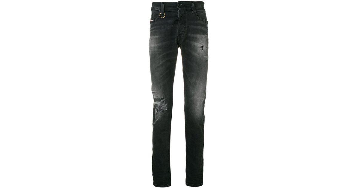 7a8406b5c174d1 DIESEL Tepphar 069dw Jeans in Black for Men - Lyst