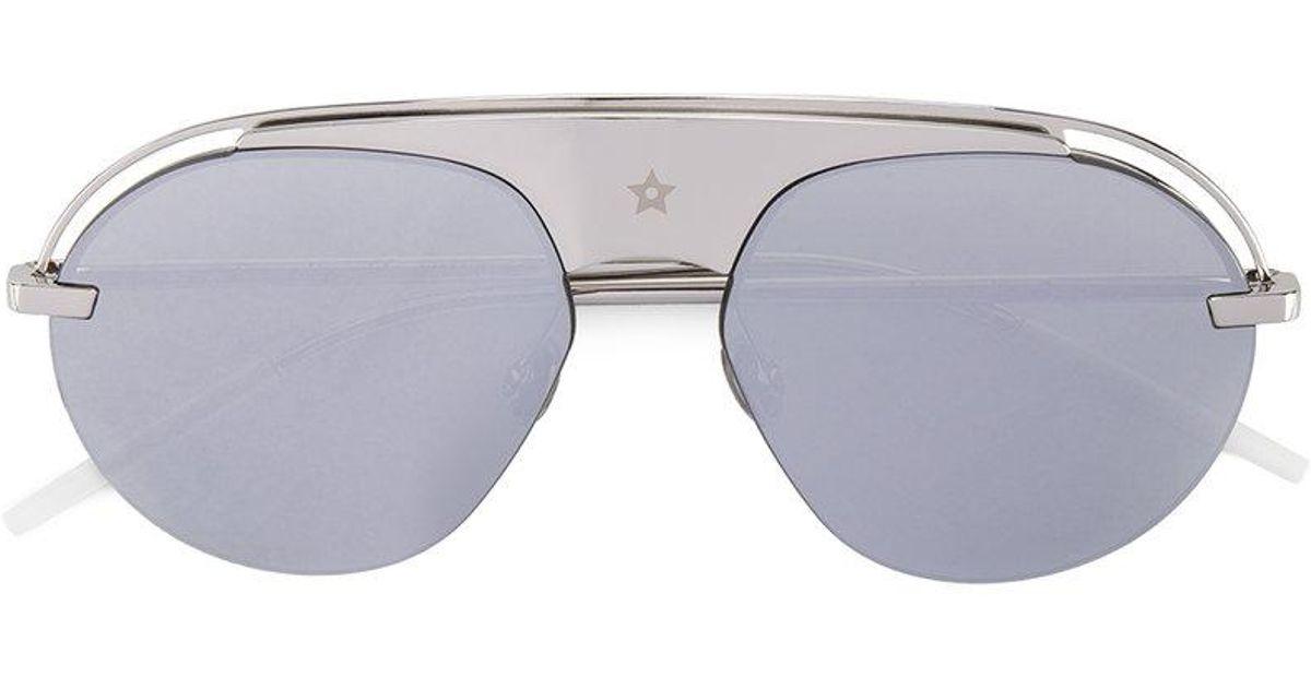 43bf3cc276536 Lyst - Dior Dio(r)evolution Sunglasses in Metallic