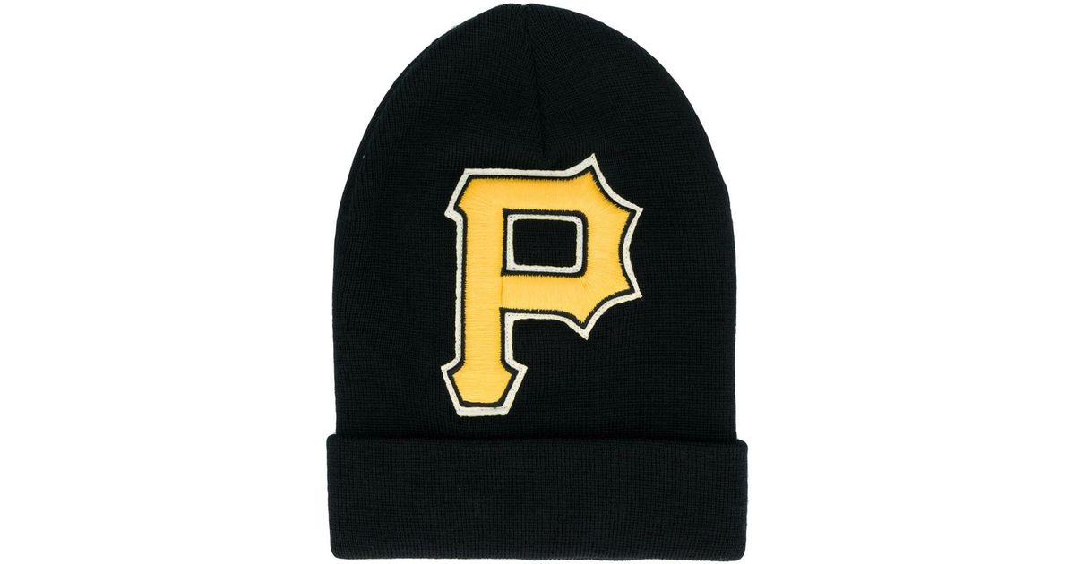 Lyst - Gorro Pittsburgh Pirates Gucci de hombre de color Negro - 3 % de  descuento 7cab6af1ea7