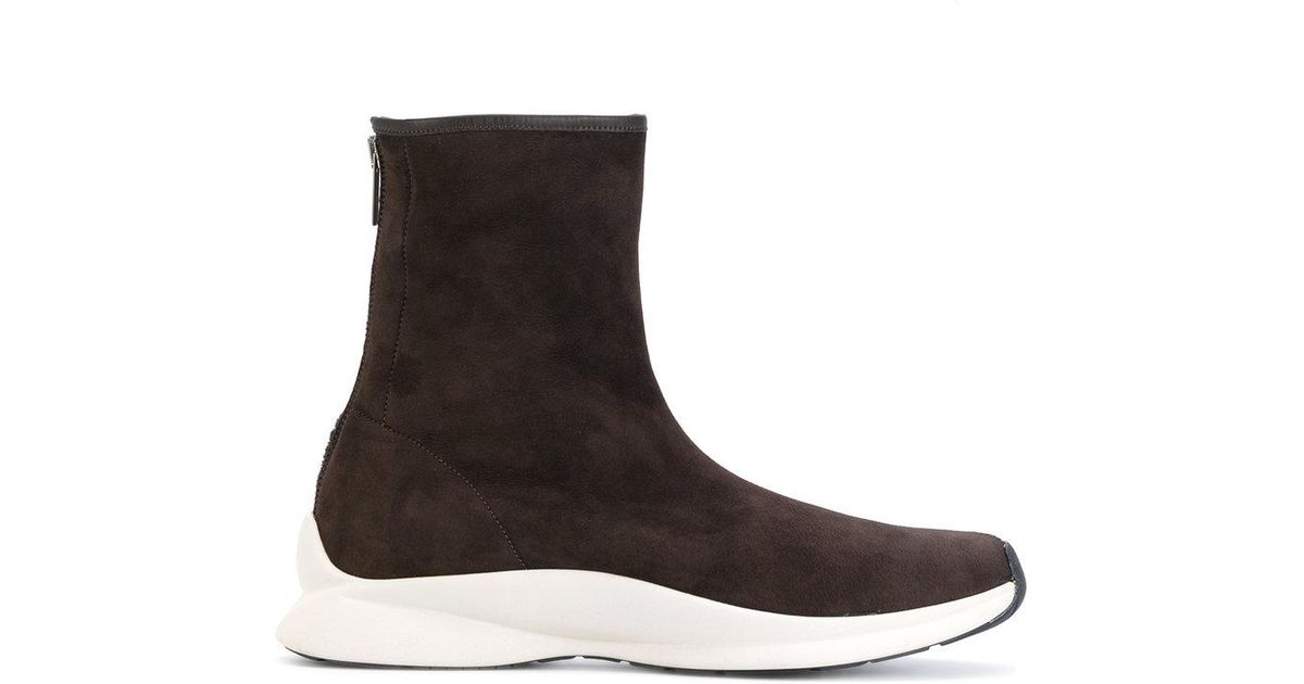 GENTRYPORTOFINO Rear zip boots Outlet Store For Sale With Credit Card Free Shipping JJwfZhoJJ
