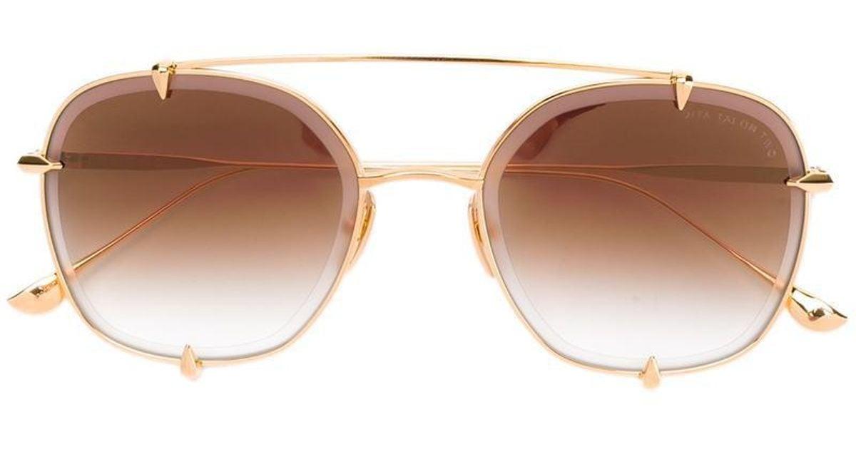 60a22ae65817 Lyst - Dita Eyewear Talon Two Sunglasses in Metallic