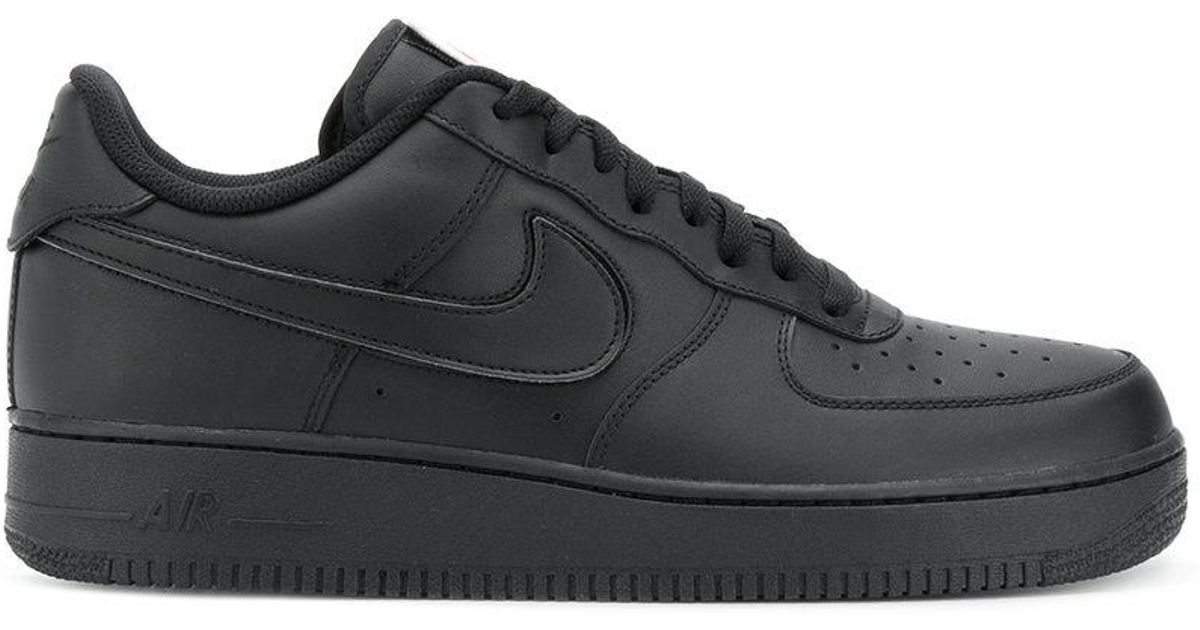 Lyst - Nike Air Force 1 07 Qs Sneakers in Black for Men a19b62f8c