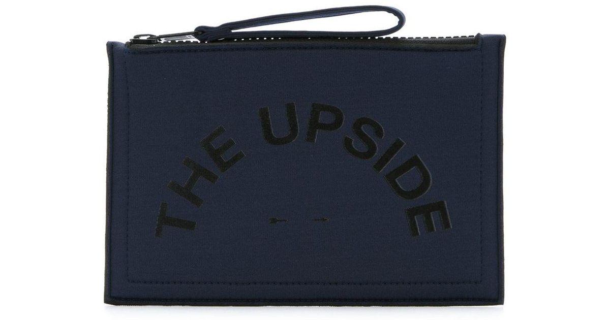 neoprene pouch bag - Blue The Upside zWXMjS