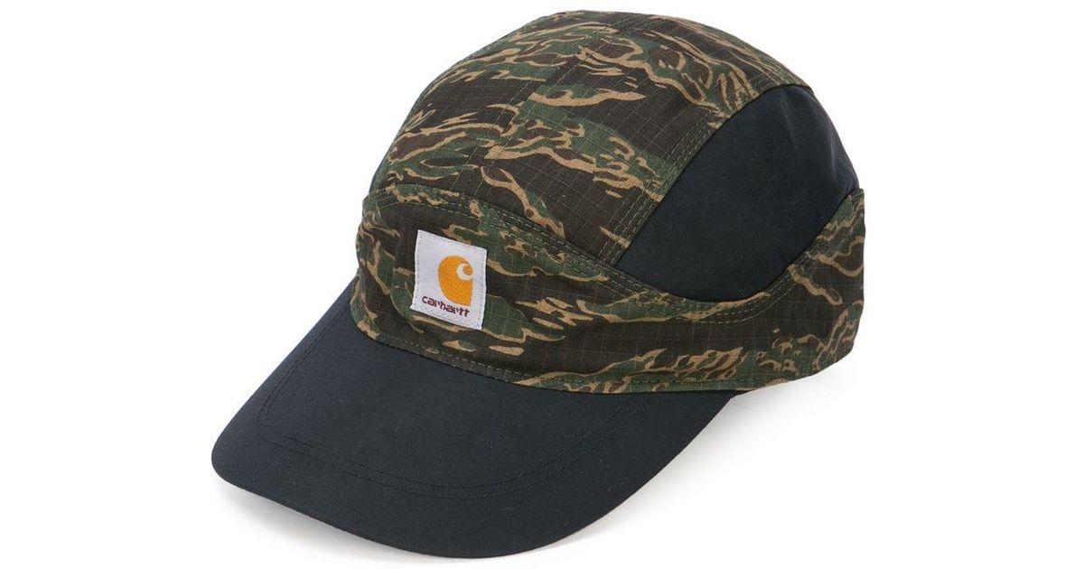 6c4bea61 Nike X Carhartt Camouflage Baseball Cap in Black for Men - Lyst