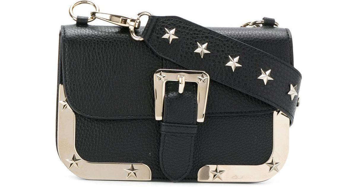 4385948dba RED Valentino Star Studded Mini Bag in Black - Lyst