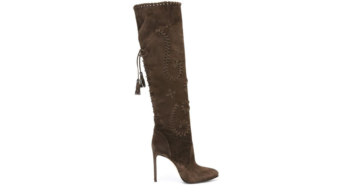 LE SILLA Lace Up Boots KYmDz