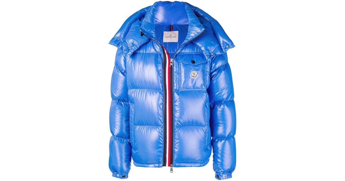 9577e4ab1263 Lyst - Moncler Montbeliard Puffer Jacket in Blue for Men