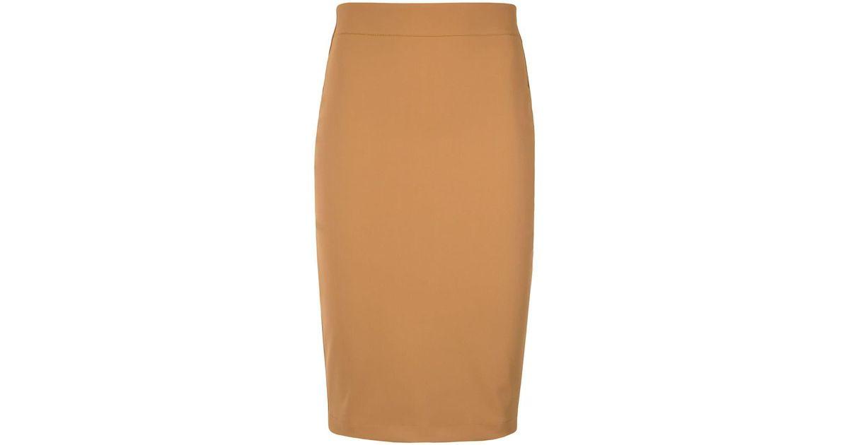 c9ff9d9d9 Lyst - Gloria Coelho Pencil Skirt in Yellow