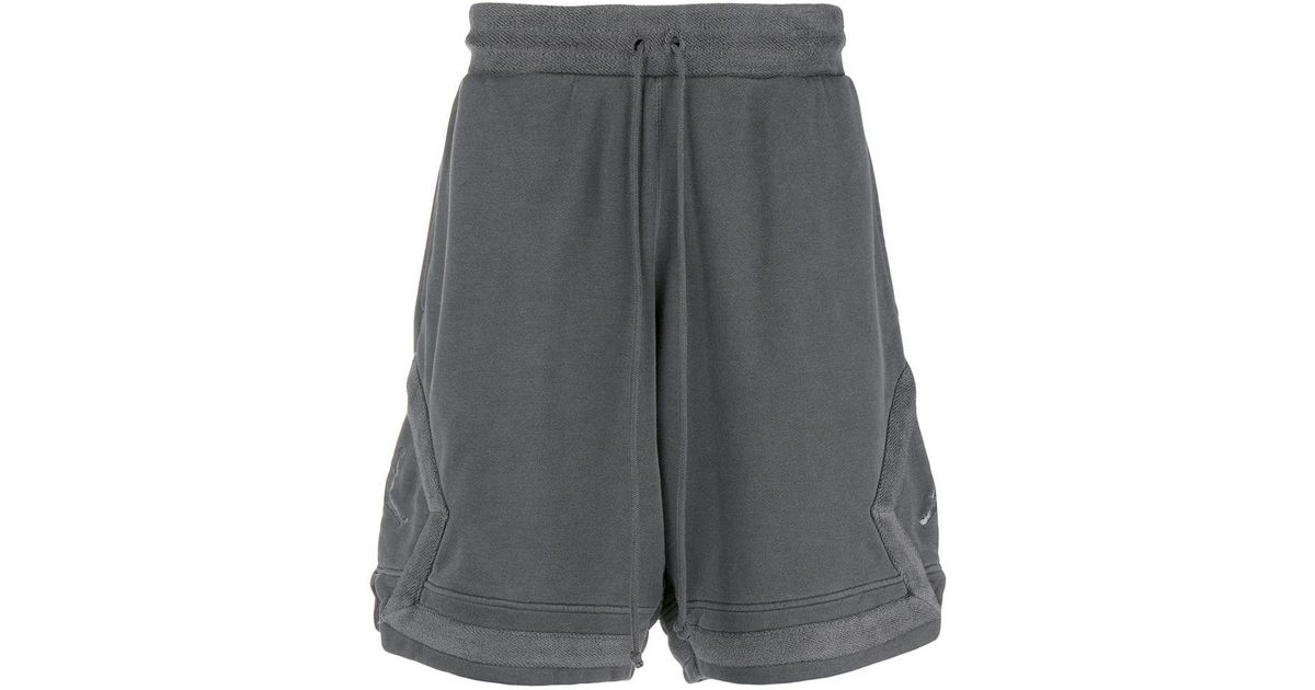 ae4476a46bb Nike Jordan Sportswear Diamond Washed Fleece Shorts in Gray for Men - Lyst